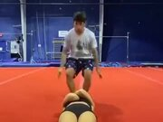 How Gymnasts Pull A Prank