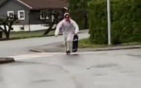 A New Kind Of Skateboard Slide