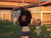 Cow Coping A Tiktoker Girl