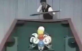 Hilarious Japanese Comic Pool Game