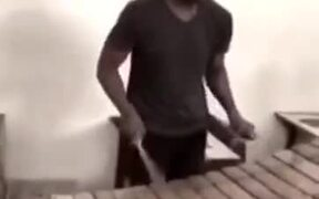 Unbelievable Marimba Cover Of Mission Impossible