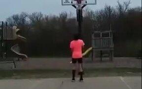World's Best Basketball Trick Shot