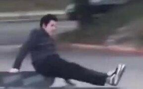 A New Skateboard Move 'Crack-Flip'