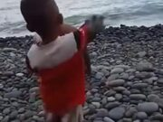 When Two Kids Play With Rocks