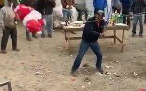Pinata Game Is Only For Kids...