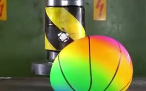 The Object A Hydraulic Press Can't Destroy