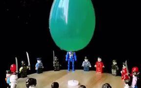 Satisfying Water Balloon Explosion