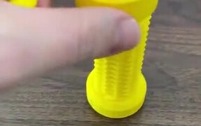 3D-Printed Two-Way Screw Threads Both Ways!