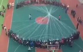 The Most Extreme Rope Skipping Ever!