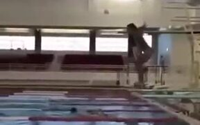 Clearly Not The Way To Dive