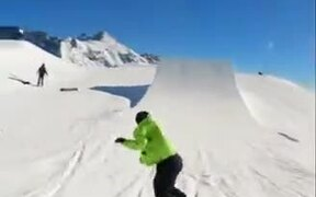 Most Awesome Skiing Sound Ever