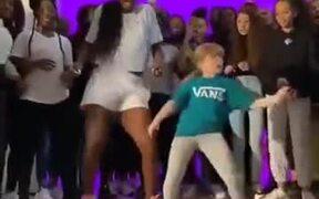 African Dance Slain By A Little Girl