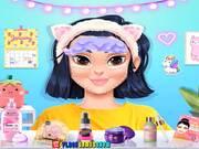 Kawaii Skin Routine Mask Makeover Walkthrough