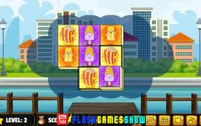 Foody Triple Mahjong Walkthrough