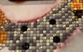 Beautiful Picture Made Of Sequins