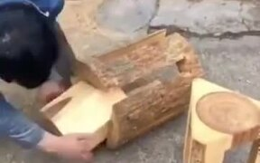 sGuy Really Knows How To Work With Wood