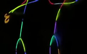 How To Make Glow In The Dark Stick Figures