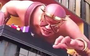 3D Advertisement Guaranteed To Snatch Attention