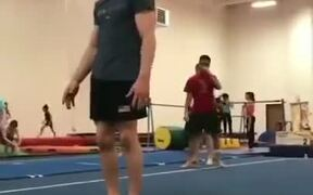 This Guy's Strength Is On Another Level