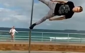 When You Want To Pole Dance..