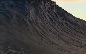 Massive Wave Touches The Boughs Of The Clouds
