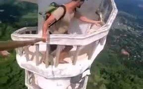 Climbing The Ambuluwawa Tower Of Sri Lanka