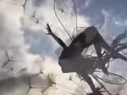 Amazing Kinetic Structure Made Out Of Steel Wires