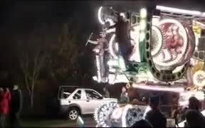 Incredibly Illuminated Carnival Set On Wheels