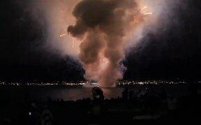 Shortest Fireworks Show