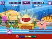 Sea Monsters Food Duel Walkthrough