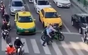 Motorcyclists are nice people