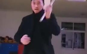 This Guy's Nunchuk Skills Are Truly Off The Charts