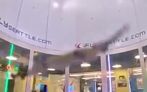 Flying In A Wind Tunnel Is Nothing But Fun