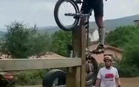 Absolutely Unimaginable Trials Bike Stunt