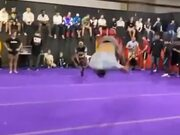 Athlete Shows Off His Non-Stop Backflip Trick