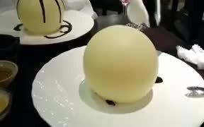 Coolest Chocolate Dessert Presentation Ever