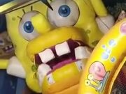 Spongebob Squarepants Straight Out Of A Nightmare