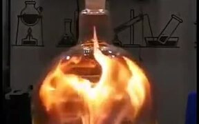 Incredibly Satisfying Chemical Reaction