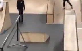 Roller Skates Guy Literally Loses His Manhood