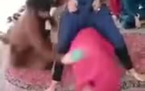 Weird Game Of Slipper Spanking From Pakistan
