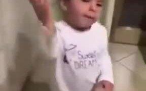 Italian Toddler Talks Like An Adult
