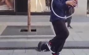 Cool Trick With A Hoop