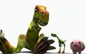 Dinosaur and Pig