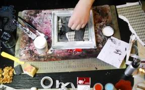 """Creating of Altered Art Project """"Crazy Ideas"""""""