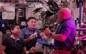 Astronauts Grow Lettuce
