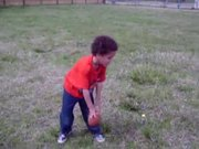 Triston The Coolest One - Playing Football