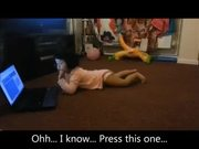 """Lol Kids Scary Moment with Laptop """"Oh My God"""""""