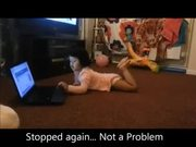 "Lol Kids Scary Moment with Laptop ""Oh My God"""