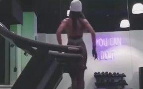 Ballerina On a Treadmill