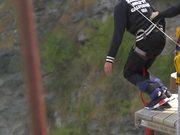 Bungee Jumper Jumping
